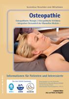 Osteopathie Osteopathische Therapie / Osteopathische Verfahren - integrativer Bestandteil der Manuellen Medizin -