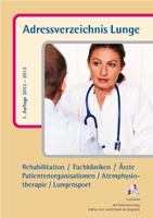 Adressverzeichnis Lunge 1. Auflage 2012/2013